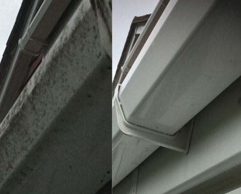 Fascia and soffit cleaning New Forest